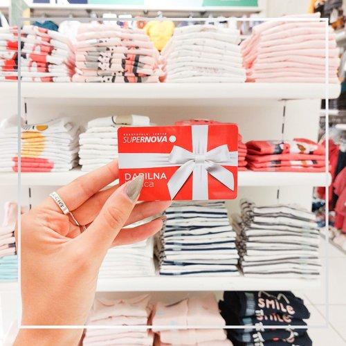 Z Darilno kartico Supernova lahko nakupuješ v 🛍️ ❤️16 nakupovlanih centrih Supernova po Sloveniji.  Darilno kartico...